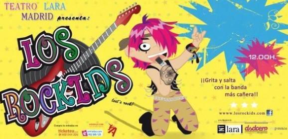 Los Rockids en el Teatro Lara