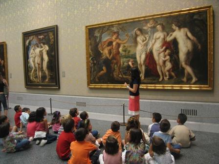 Talleres-visitas-infantiles-Museo-del-Prado